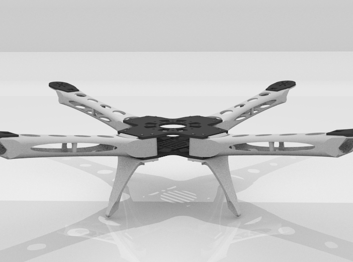 Innerbreed IX4 Quadcopter 3d printed