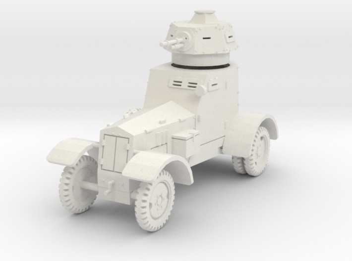 PV148 wz34 Armored Car (1/48) 3d printed