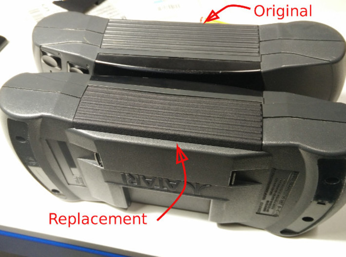 Lynx II Battery Cover 3d printed