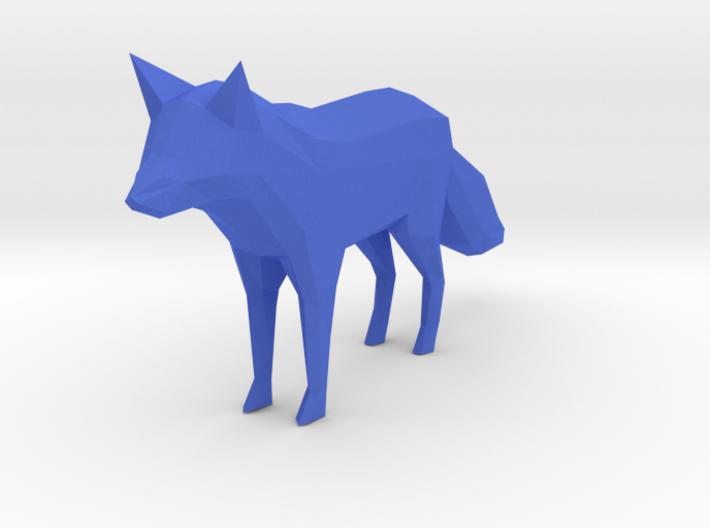 Low Poly Fox 3d printed