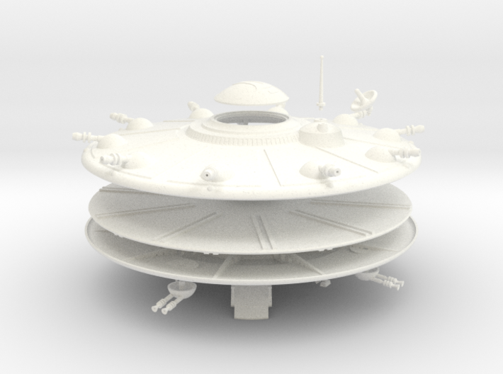 Armed Scout Craft 5 Inch kit Asmb Parts 3d printed