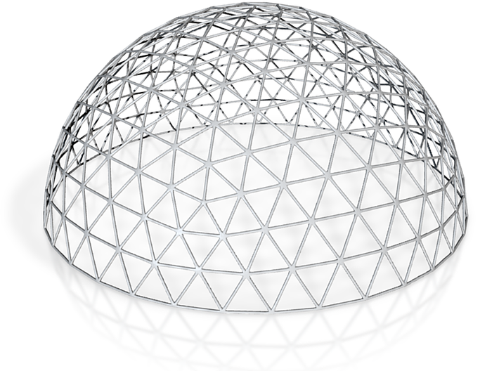 Geodesic Dome 2/5 3d printed