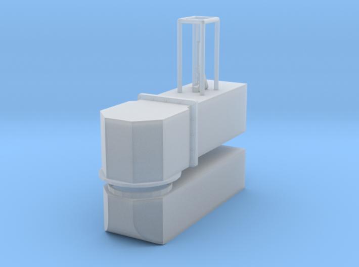 1/24 scale Newton Dump Valve W/Swivel 3d printed
