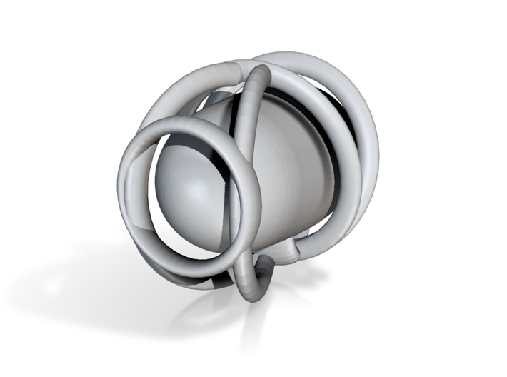 Suspended Coffee Cup1 3d printed