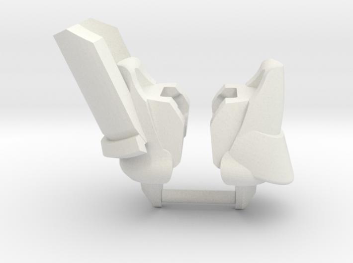 Jovian Shoulders 3d printed
