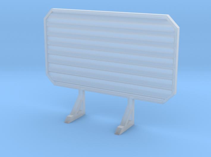 1/87 HO headache rack 3d printed
