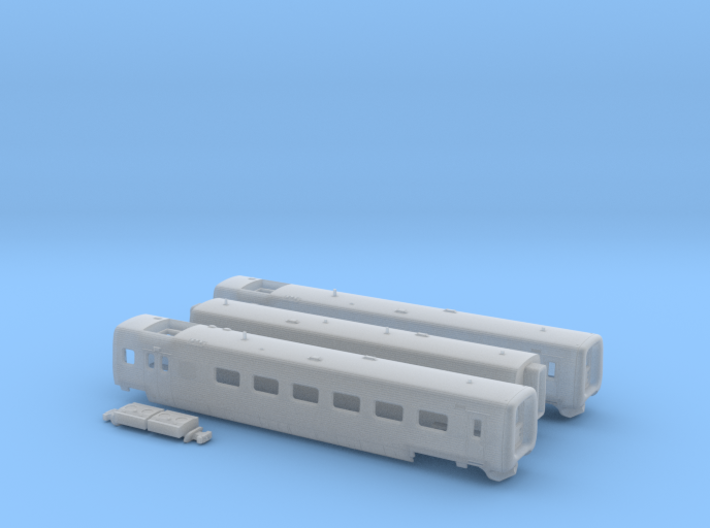 DSB IC3 N [3x body + details] 3d printed