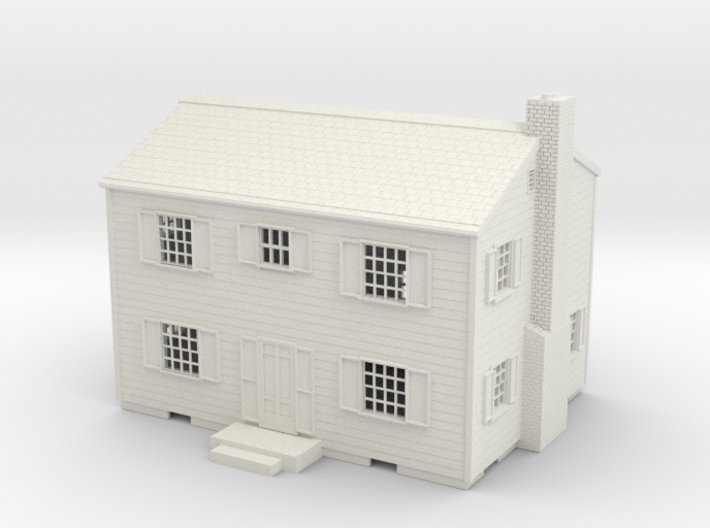 Atomic Test House 3d printed