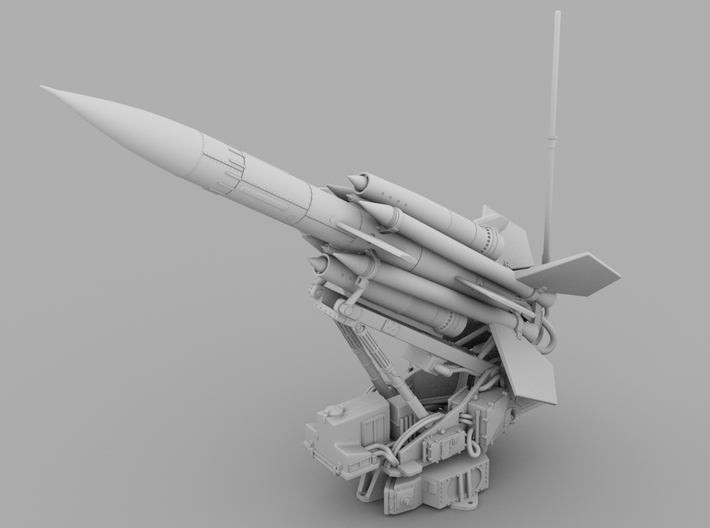 1:87 : BloodHound Missile, Launcher & Pad 3d printed
