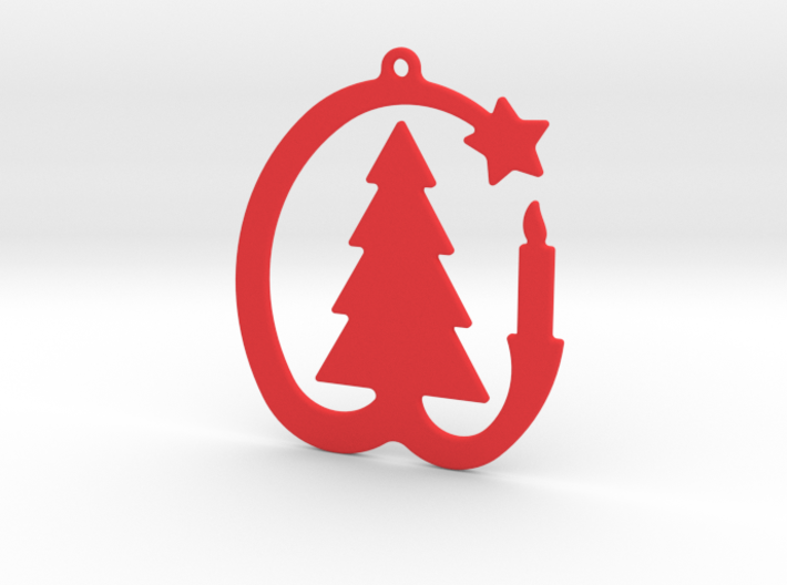 Ornament For Christmas Tree 3d printed