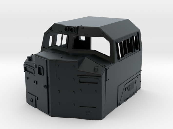 SD70ace-BB Cab 1:160 3d printed