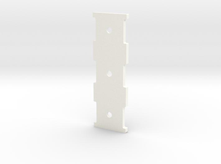 2537-5 Triple Carb Base 3d printed