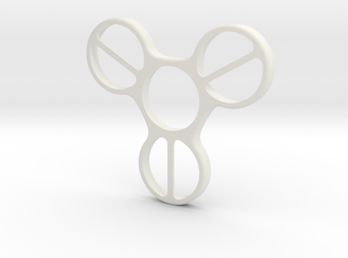 Undercover (Bottom Half) - Fidget Spinner 3d printed