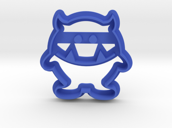 Monster Cookie Cutter 3d printed