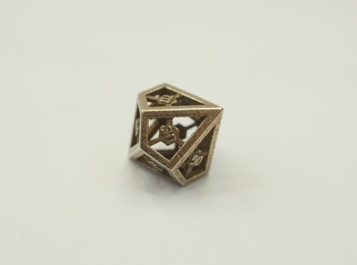 D10 Decader Epoxy Dice 3d printed