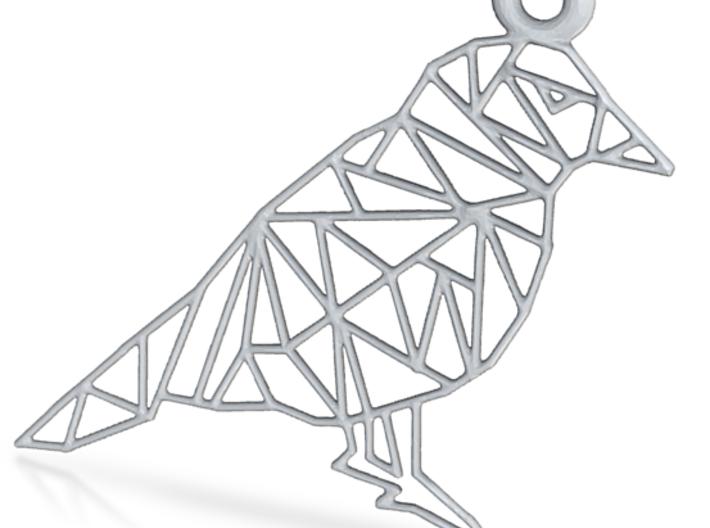 Bird Pendants 3d printed