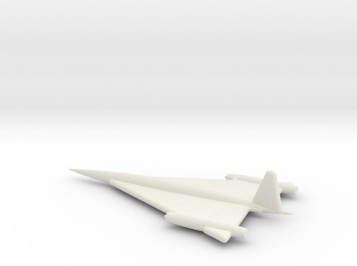 1/72 Scale Northrop XSSM-A-5 Missile Final Design 3d printed