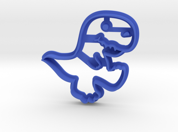 Dinosaur Cookie Cutter 3d printed