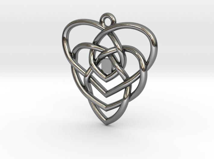 Motherhood Knot - No Birthstones 3d printed