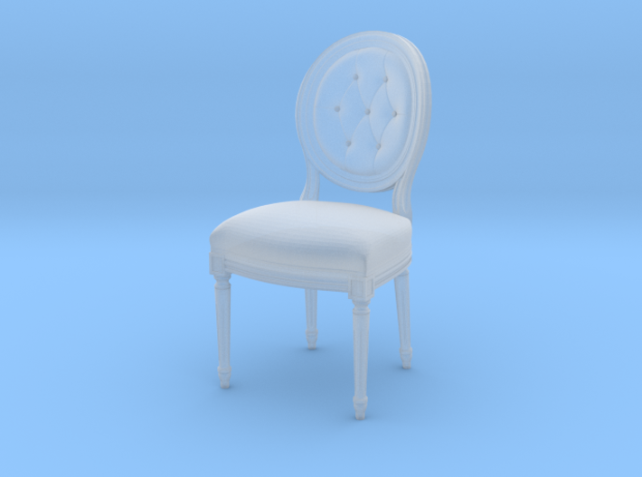 Louis XVI Side Chair 3d printed