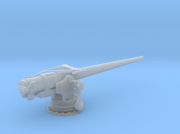 1/72 USN 5 inch 51 Cal. Deck Gun 3d printed