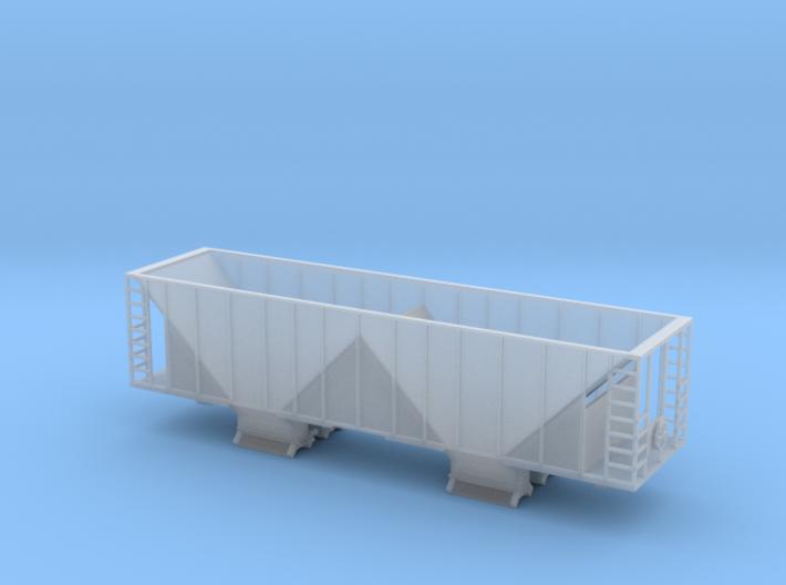 Ballast Hopper Car - Z scale 3d printed