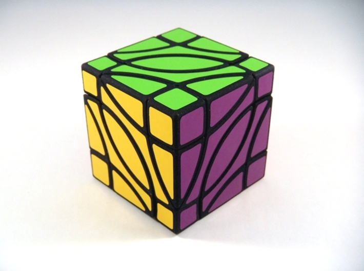 4 Corners Cube Puzzle 3d printed 4 Corners Cube