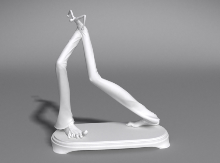 Monument in Right Foot Major 3d printed Monument in Right Feet Major, 4.5 inch height, digitally printed model