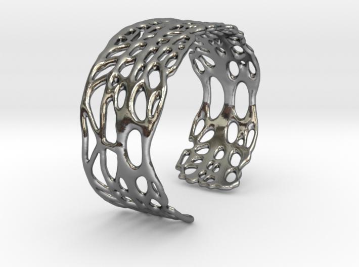 seafan cuff 3d printed
