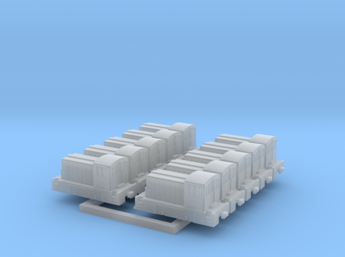 Rebel Switcher - Set of 10 - 1:700 scale 3d printed