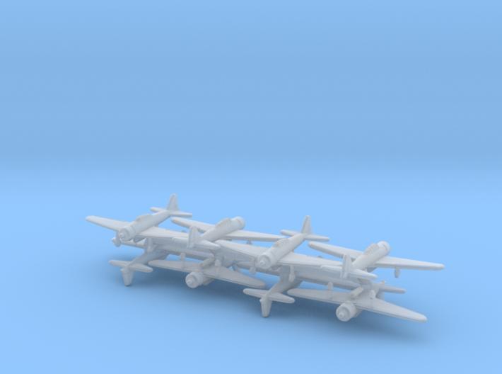 1/600 A6M w/Gear x8 (FUD) 3d printed