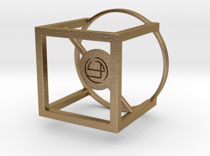 Cube Tea Light 3d printed
