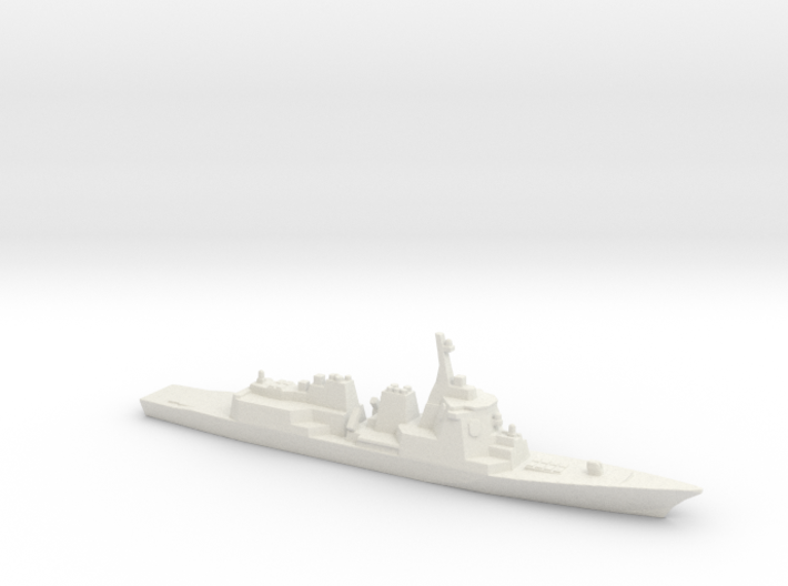 Atago-class Destroyer, 1/2400 3d printed