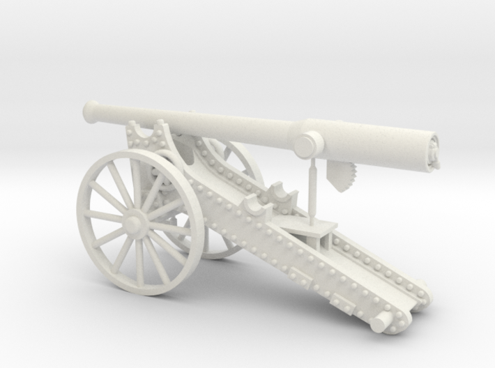 Boer War Long Tom (28mm) 3d printed