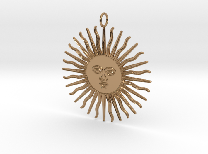 My Day Pendant 3d printed