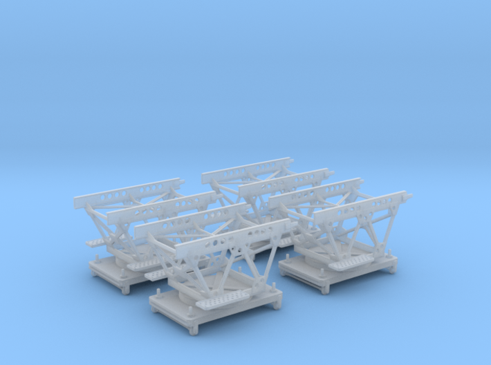 "1/96 IJN Trolley for trailer ""Pete"" 3d printed"