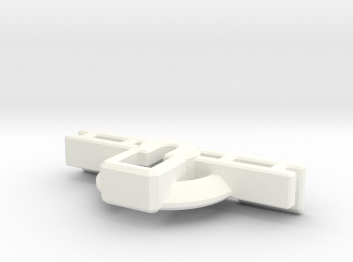 Titan Master Neck Socket for CW Leader Megatron 3d printed