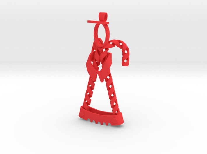 Candy Cane Angel 3d printed Candy Cane Angel