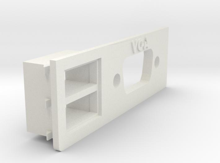 A1200 Rear Expansion VGA & USB 3d printed