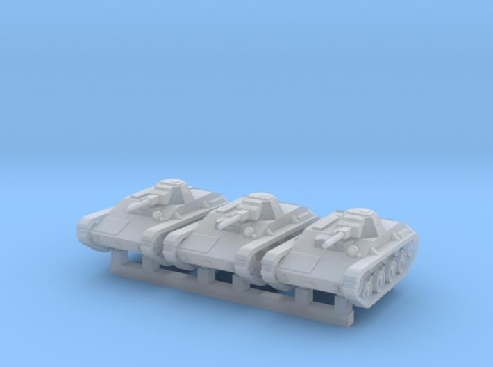 1/160 T-60 tanks (low) 3d printed