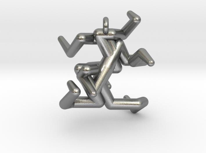 Heptadenton Pendant 3d printed