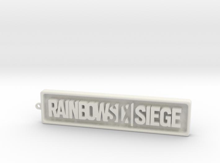 Rainbow Six SIege - positive 3d printed