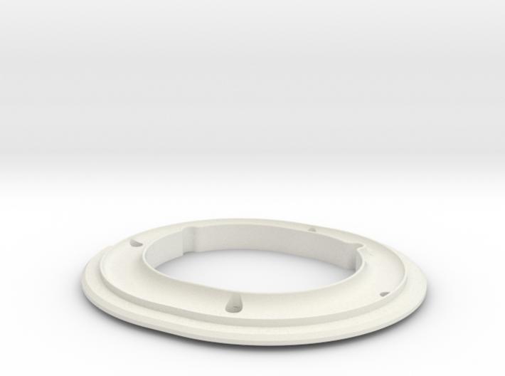 ALPHA, PAD RING.STL 3d printed