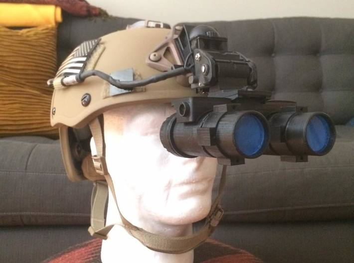 Replica/Dummy ANVIS 9 NVG Goggles 3d printed Printed from my personal MakerGear M2 (does not include acrylic lenses)