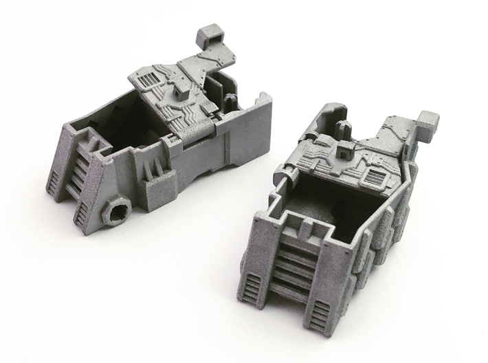 TR Compatible Feet for CW Leader Megatron 3d printed