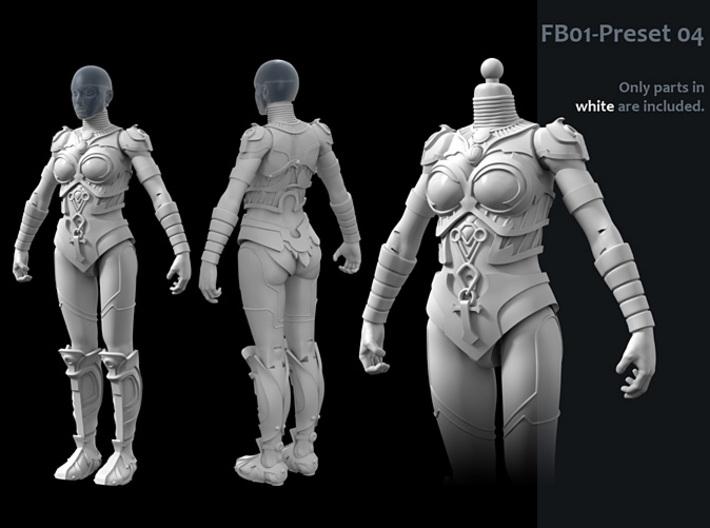 FB01-Preset-04s 6inch 3d printed