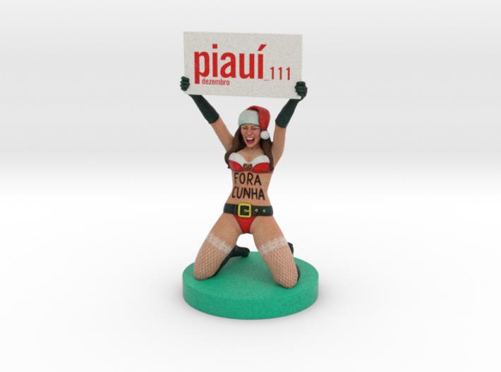 Piaui Magazine - A Fora Cunha Christmas 3d printed