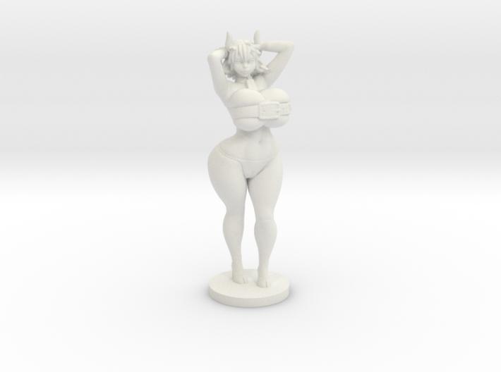 Moo the Minotaur - 40mm Miniplastic 3d printed