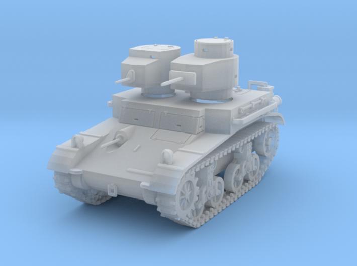 PV42E M2A2 Light Tank (1/87) 3d printed