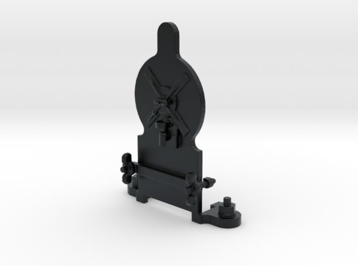 Dev PlateDesign-Back 3d printed